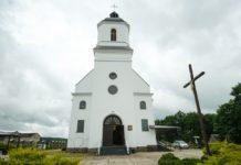 Костел Коптевка в Гродненской области