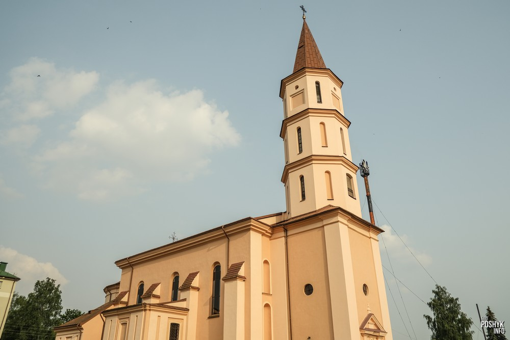 Троицкий костел в Ружнаха Беларусь