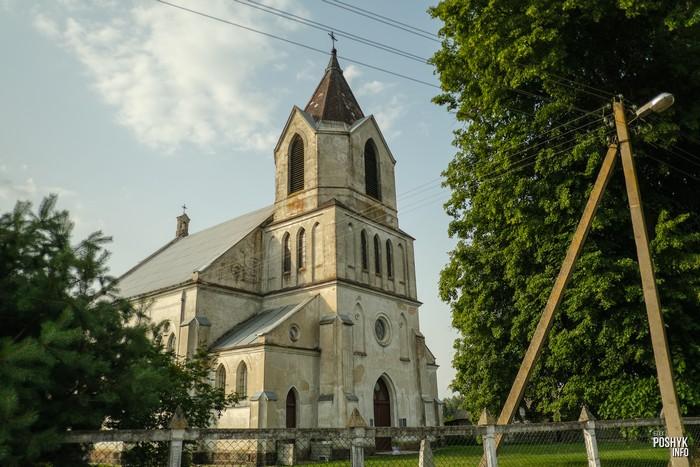 Деревня Селец костел святого Алексея