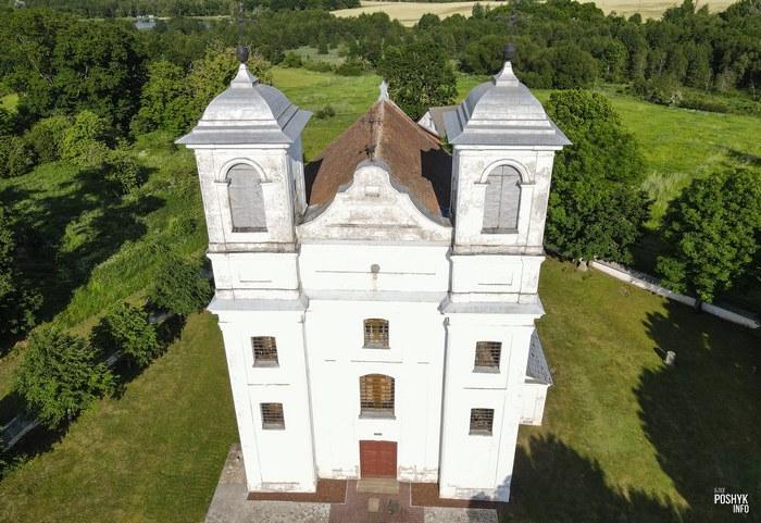 Костелы Беларуси Ищелно
