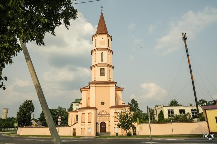 Костел Троицкий в Ружанах