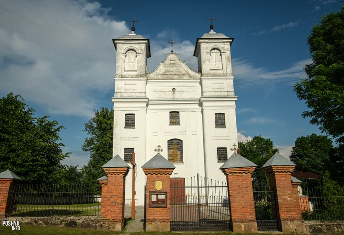 Костелы Гродненской области Ищелно