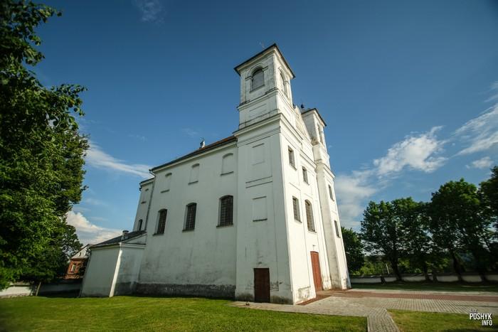 Красивые костелы Беларуси Ищелно