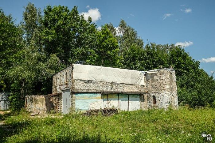 Заброшенный дом рядом с Раковом
