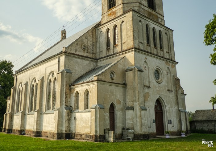 Костел в деревне Селец, Брестская область