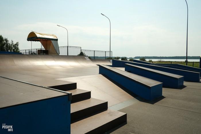 Скейтпарк в Солигорске