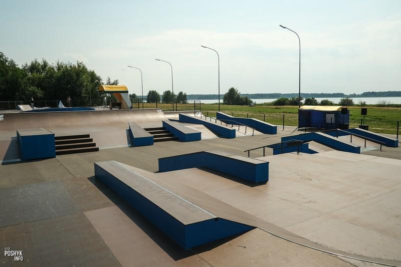 Солигорск стрит зона скейтпарк