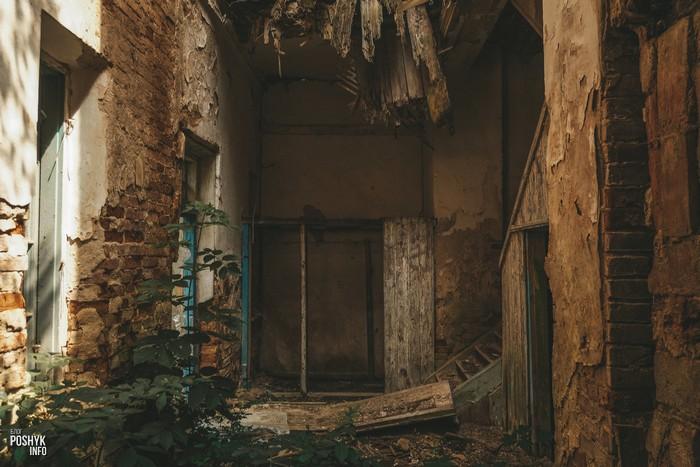 Заброшенная усадьба в Линово