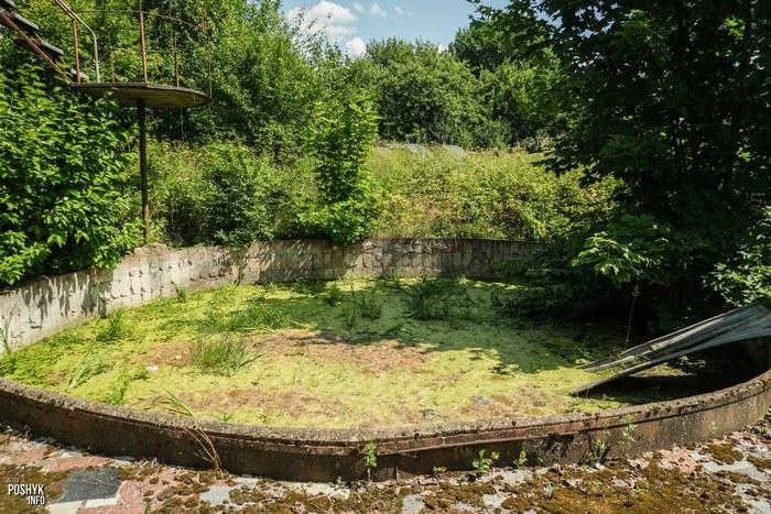 Заброшенный бассейн недалеко от Ракова