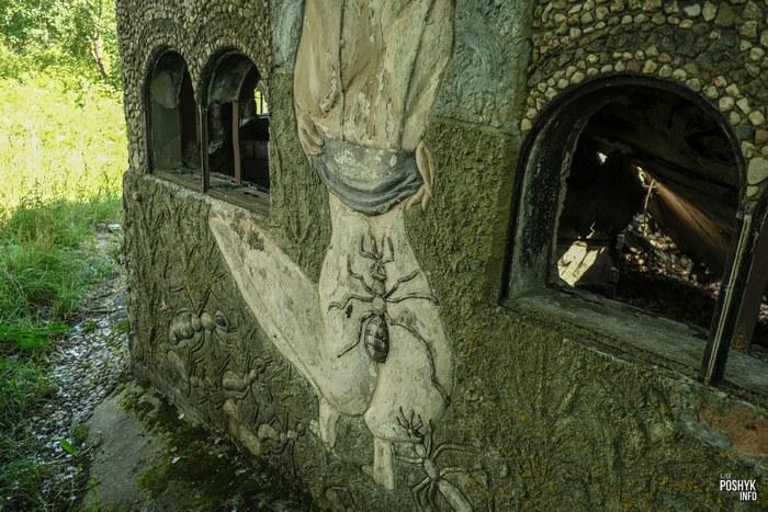 Заброшенный дом Беларуси