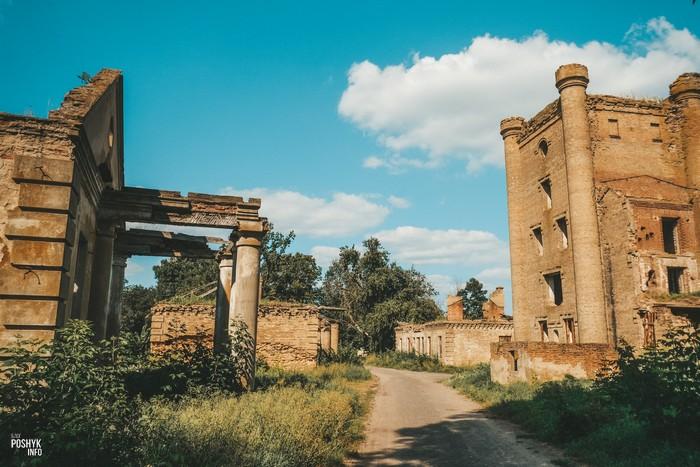 Заброшенная усадьба Эстремских Борисовщина Гомельская область