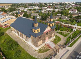 Деревянный костел Святой Анны в Дзержинске