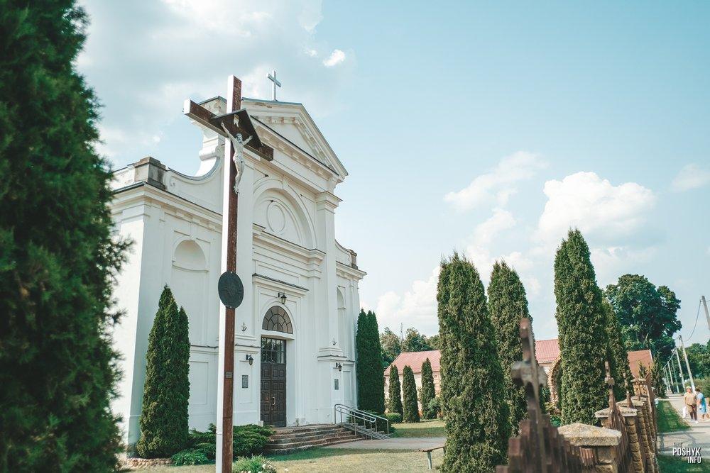 Костел в городе Пружаны