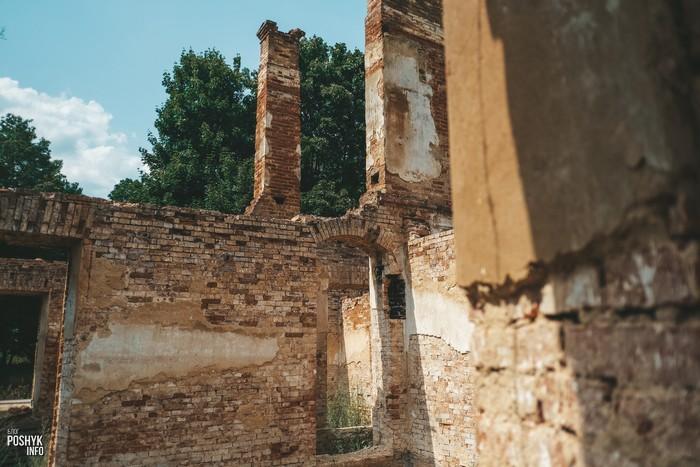 Развалины усадьбы Дзеконских