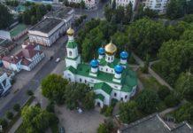 Собор святого Николая в Бобруйске где когда-то был бассейн