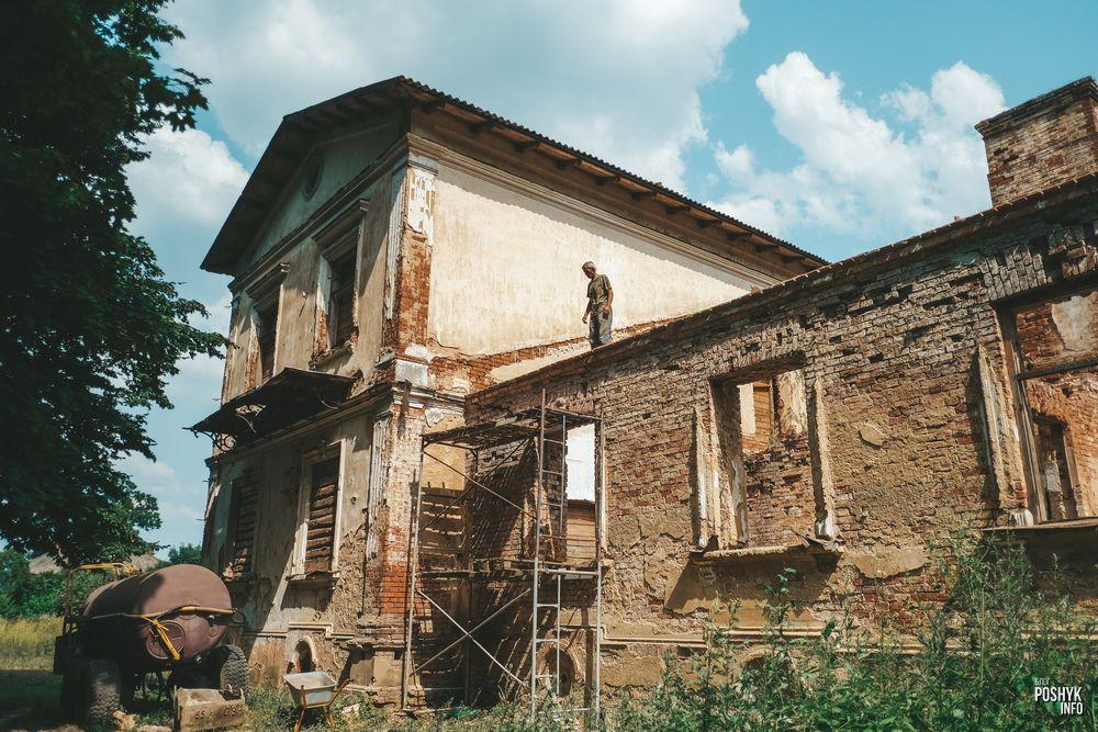 Усадьба Деконских в деревне Каштановка