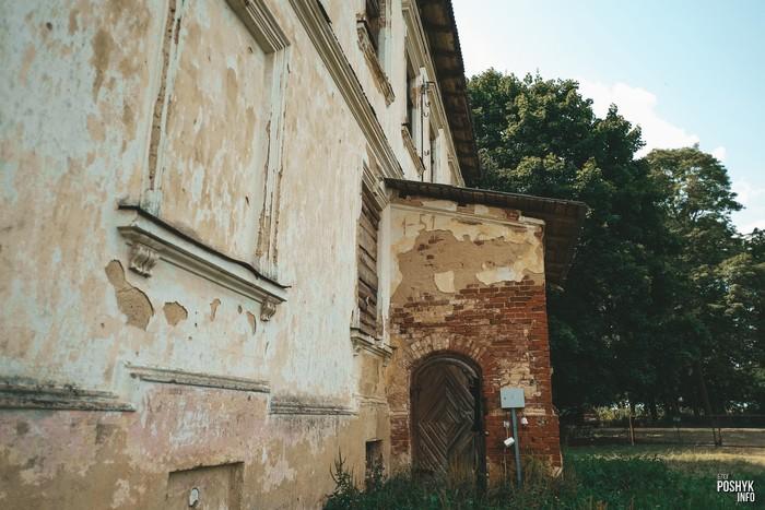 Заброшенная усадьба в деревне Каштановка