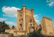 Заброшенная башня в деревне Борисовщина, Гомельская область