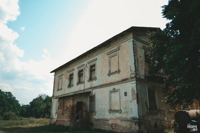 Усадьба в деревне Каштановка