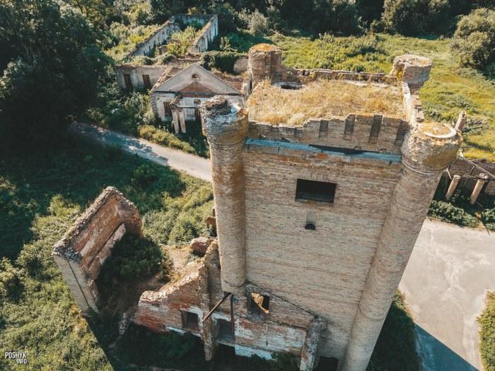 Заброшенная башня в Гомельской области