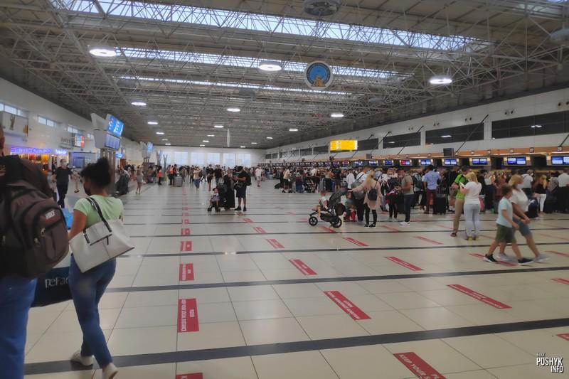 Аэропорт города Анталия Турция