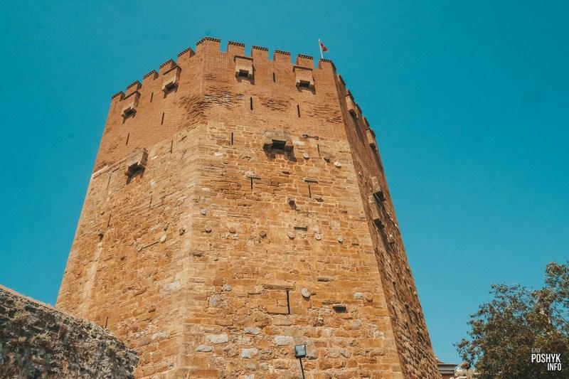 Красная башня (Кызыл Куле) Алания