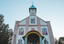 Михайловская церковь в агрогородке Черея, Витебская область