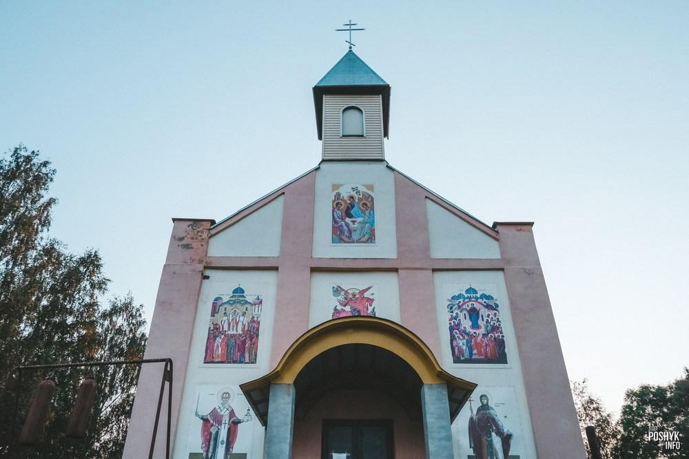 Униатская церковь в деревне Черея