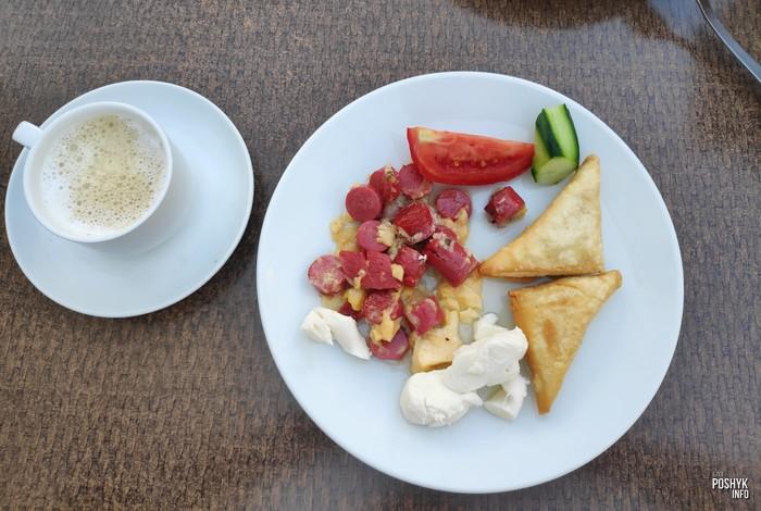 Как кормят отель Cleopatra golden beach завтрак