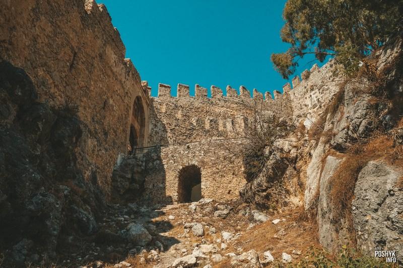 Достопримечательности в городе Алания крепость