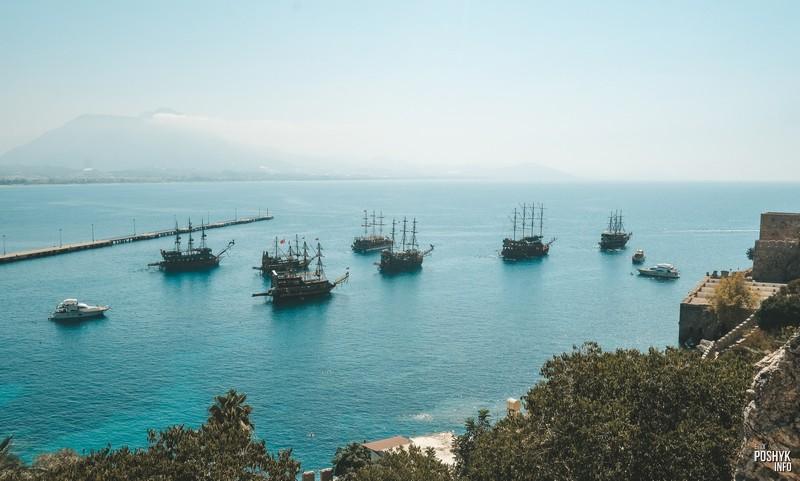Экскурсии на кораблях Алания