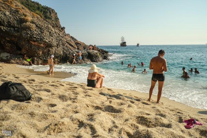 Галичный пляж в Алании