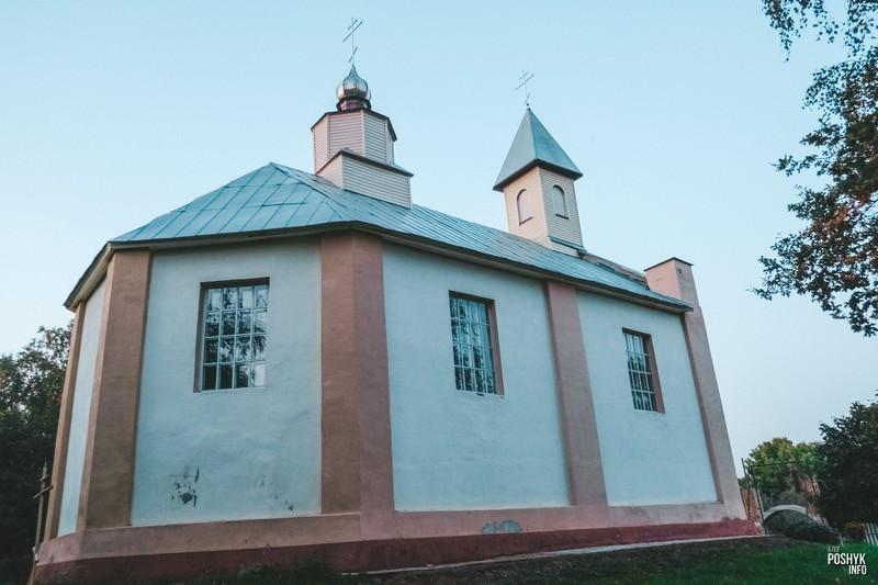 Старинный униатский храм в Беларуси