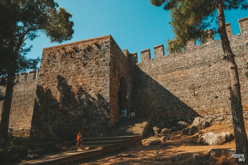 Ич Кале (Iç Kale) крепость Алании