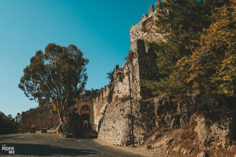 Как попасть в крепость Алании