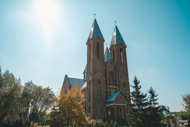 Костел в городе Светлогорск