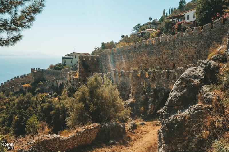 Крепость в городе Алания