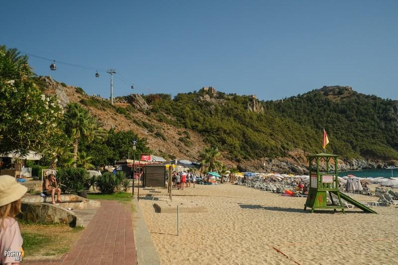 Лучшие пляжи в Алании Турция