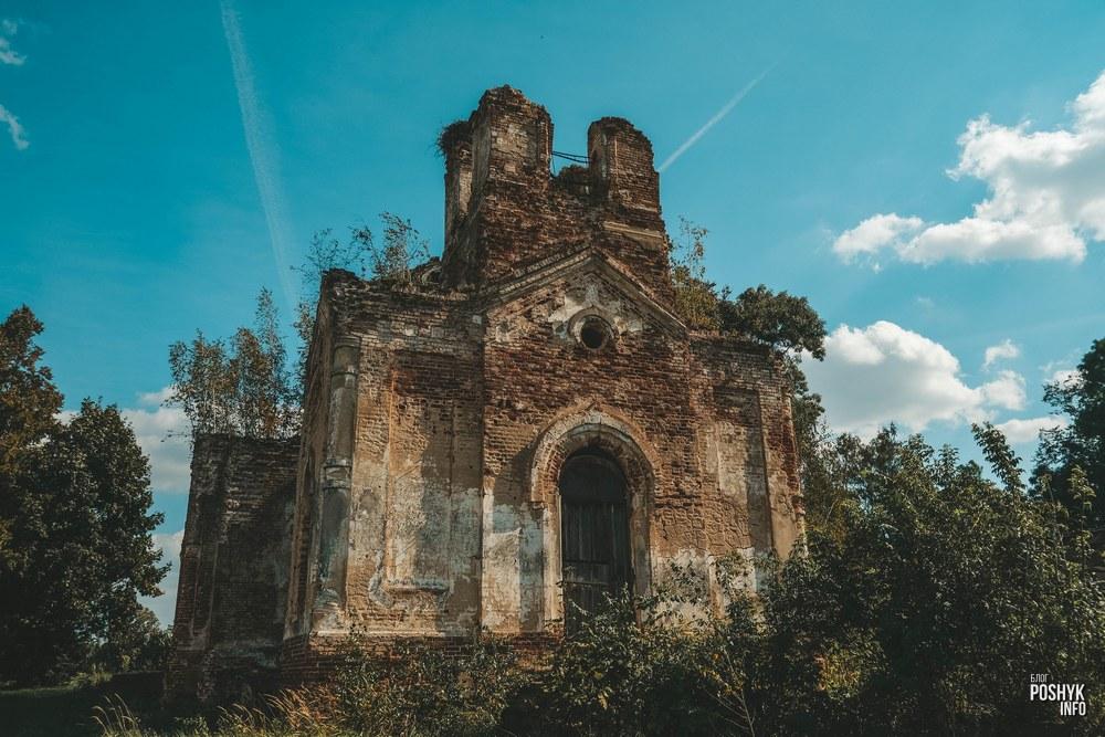 Церковь в агрогородке Межево