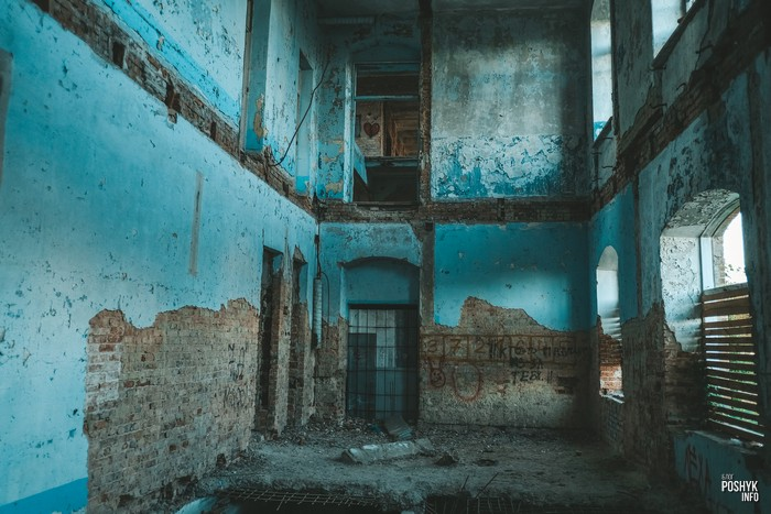 Заброшенный дом в Мозыре