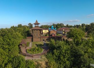 """Мозырский замок на городище """"Замковая Гора"""""""