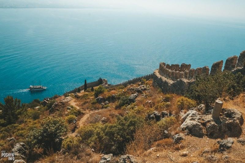 Непреступная крепость в городе Алания