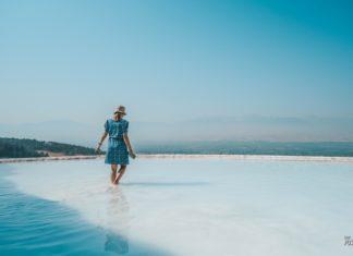 Памуккале в Турции отзыв, впечатление, история, бассейн, Иераполис