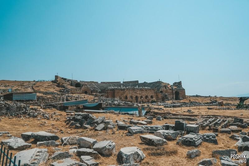 Руины Памуккале в Турции