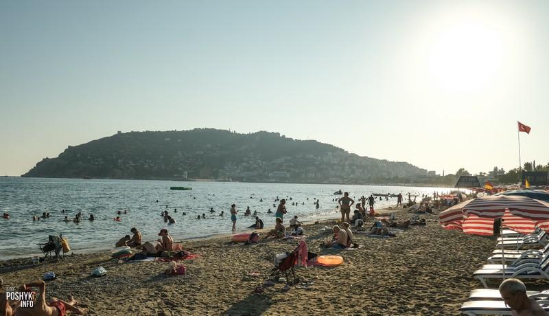 Лучшие пляжи Алании с фото на карте