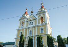 Бывший костел, а сегодня Собор Михаила Архангела в Мозыре, монастырь бернардинцев