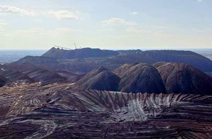 Марсианские пейзажи Солигорска