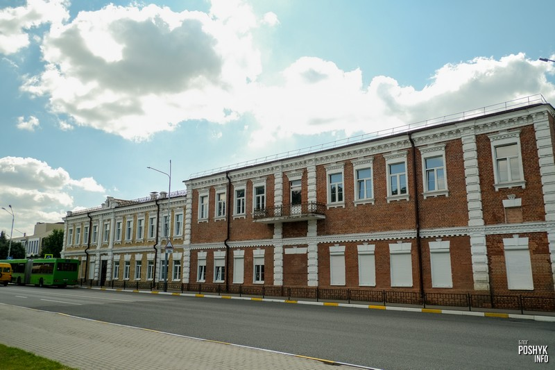 Старая застройка города Речица
