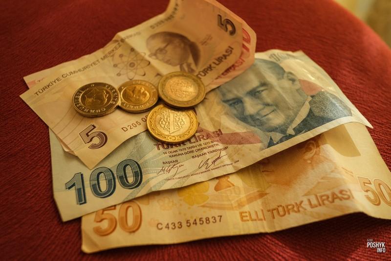 Турецкие деньги Лиры