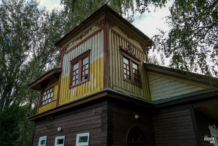 Необычная деревянная башня Блонь